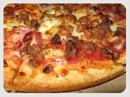 Gyro Meat Pizza