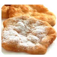 Fried Dough w/ Cinnamon & Sugar
